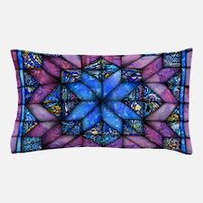 Purple Quilt Pillow Case