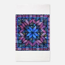 Purple Quilt Area Rug