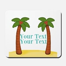 Personalizable Palm Trees Mousepad