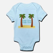 Personalizable Palm Trees Body Suit