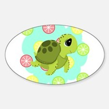 Summertime Sea Turtle Decal