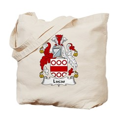 Lucas Family Crest Tote Bag