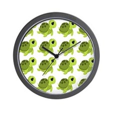 Sea Turtles Wall Clock