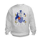 Lowndes Family Crest Kids Sweatshirt