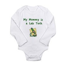 Unique Science Long Sleeve Infant Bodysuit