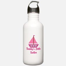 Daddys Little Sailboat Water Bottle