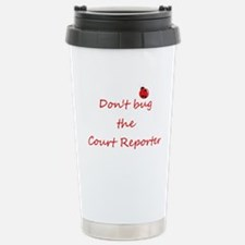 Cute Typist Travel Mug