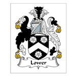 Lower Family Crest Small Poster