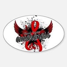 Blood Cancer Awareness 16 Sticker (Oval)