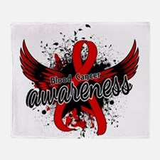 Blood Cancer Awareness 16 Throw Blanket