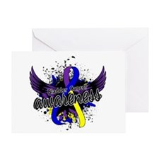 Bladder Cancer Awareness 16 Greeting Card