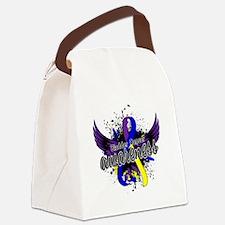 Bladder Cancer Awareness 16 Canvas Lunch Bag