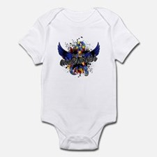 Autism Awareness 16 Infant Bodysuit