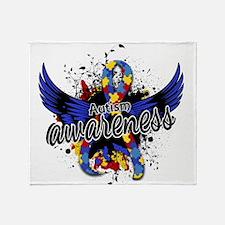 Autism Awareness 16 Throw Blanket