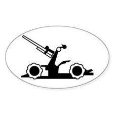 Artillery Oval Decal