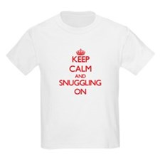 Keep Calm and Snuggling ON T-Shirt