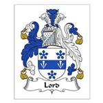 Lord Family Crest Small Poster