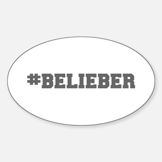Belieber-Fre gray 600 Decal