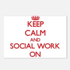 Keep Calm and Social Work Postcards (Package of 8)