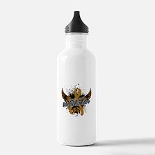 Appendix Cancer Awaren Water Bottle