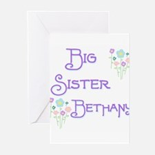 Big Sister Bethany Greeting Cards (Pk of 10)