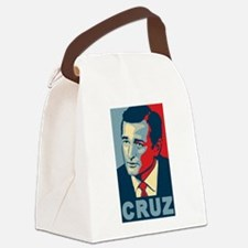 Ted Cruz (new and improved!) Canvas Lunch Bag