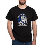 Longden Family Crest Dark T-Shirt