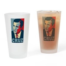 Ted Cruz (new and improved!) Drinking Glass
