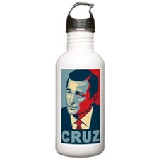 Ted Cruz (new and improved!) Water Bottle