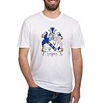 Longden Family Crest Fitted T-Shirt
