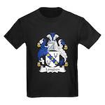 Longden Family Crest Kids Dark T-Shirt
