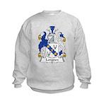 Longden Family Crest Kids Sweatshirt
