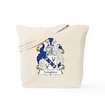 Longden Family Crest Tote Bag