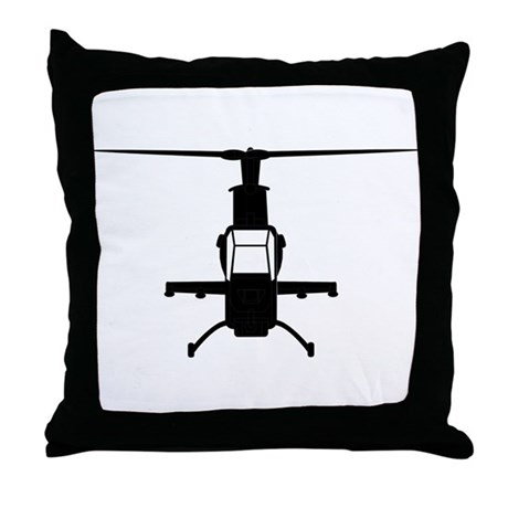 Cobra Chopper Throw Pillow