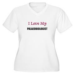 I Love My PALAEOBIOLOGIST T-Shirt