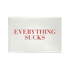 Everything Sucks-Bau red 500 Magnets