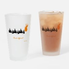 Rand Paul: Think Different Drinking Glass