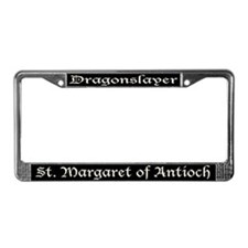 St. Margaret Dragonslayer Dark License Plate Frame