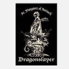 St. Margaret Dragonslayer Dark Postcards (Package