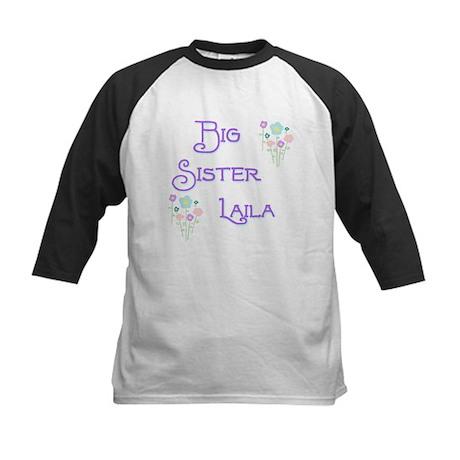 Big Sister Laila Kids Baseball Jersey