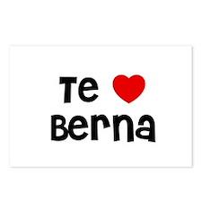 Te * Berna Postcards (Package of 8)
