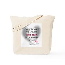 Sylvia Plath Quote Tote Bag