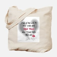 Sylvia Plath Quote Tote Bag