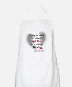 Sylvia Plath Quote BBQ Apron