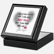 Sylvia Plath Quote Keepsake Box