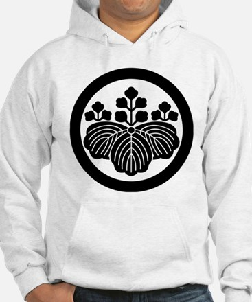 Paulownia with 5&3 blooms in cir Hoodie
