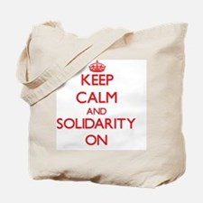 Keep Calm and Solidarity ON Tote Bag