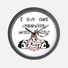 I am not mooving well today Wall Clock