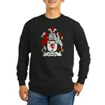 Livesey Family Crest Long Sleeve Dark T-Shirt