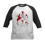 Livesey Family Crest Kids Baseball Jersey